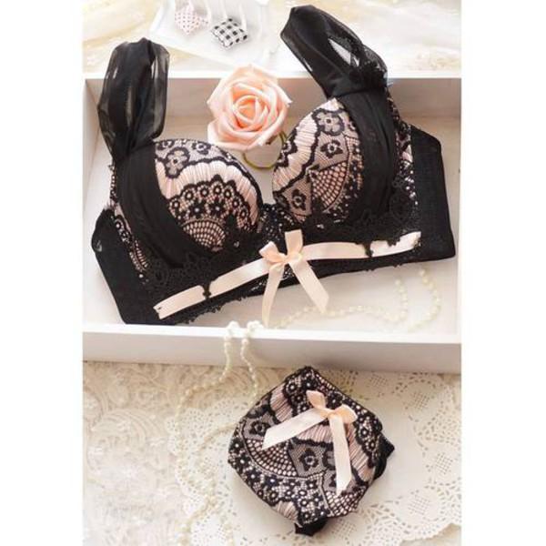 underwear lingerie lingerie set lace lingerie lace lingerie black lace bra pink bra