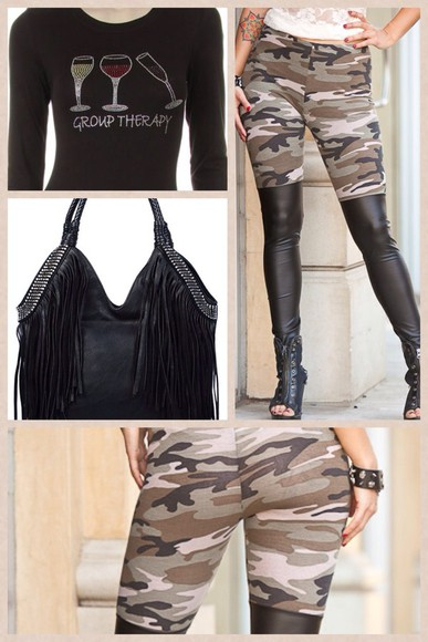 edgy pants luscious leggings camo leather legging chic leather have style change the game b-jewelz leggings be different style is a playground