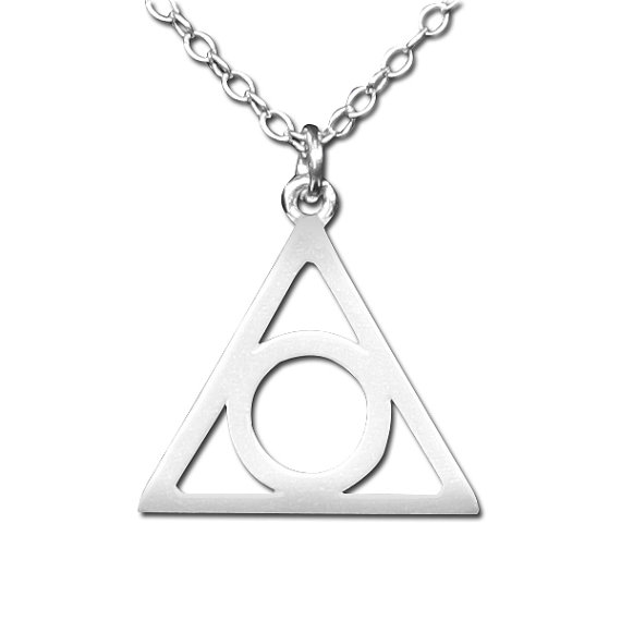 925 Sterling Silver Illuminati Symbol Eye of Providence Necklace N201
