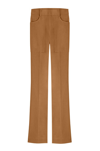 pants high brown