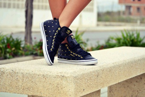 shoes navy points adidas