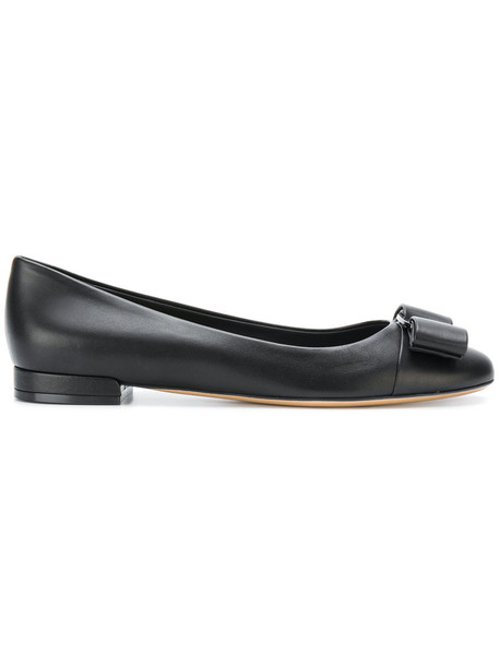 Salvatore Ferragamo women shoes leather black