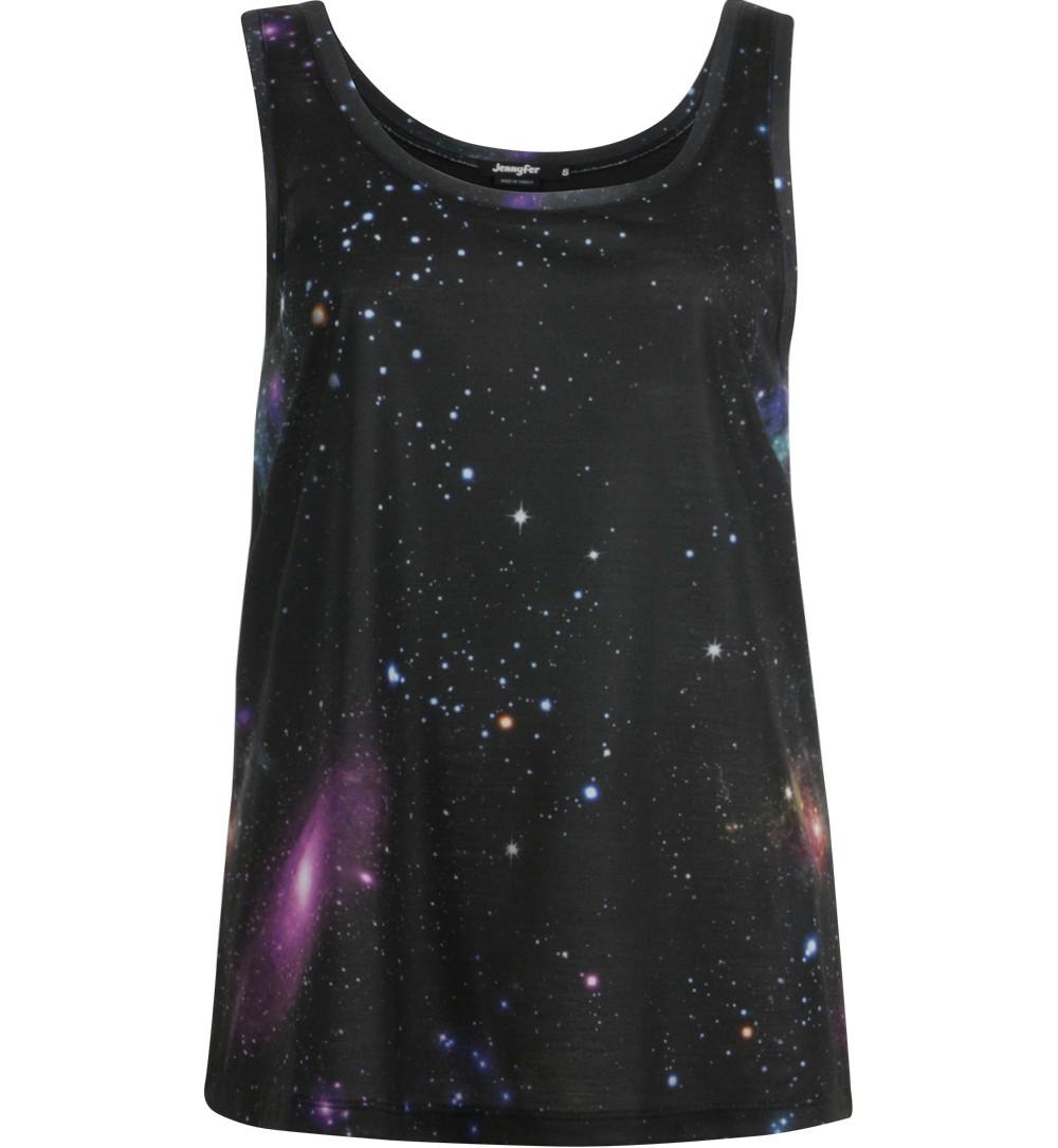 débardeur cosmic noir - tee shirts Jennyfer