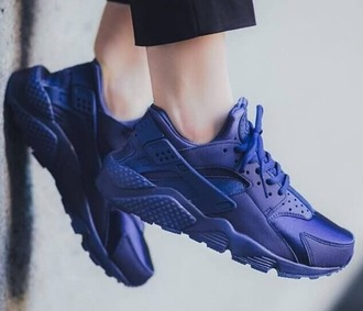 shoes girl girly girly wishlist nike nike shoes nike air blue huarache nike air huaraches huarache blue