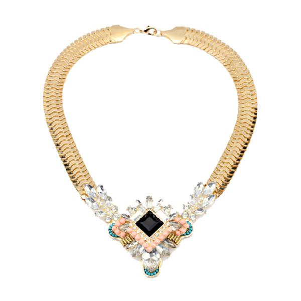 jewels statement statement necklace statement necklace gems necklace gold gold necklace jewelry gold jewelry jewelry