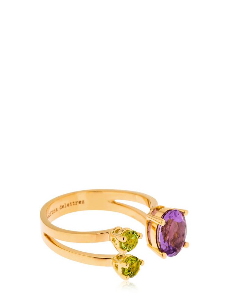 DELFINA DELETTREZ Dots Ring in gold