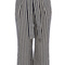 Striped high waisted soft trouser | luxury women's hot_off_the_press | karen millen