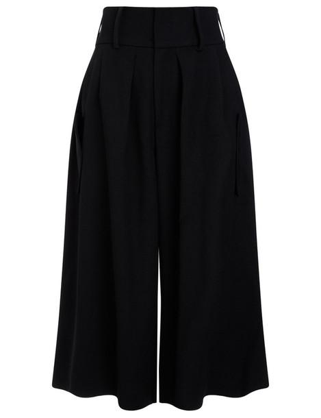 J.W.Anderson culottes black