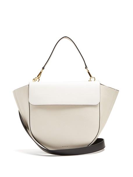 Wandler bag leather bag leather white