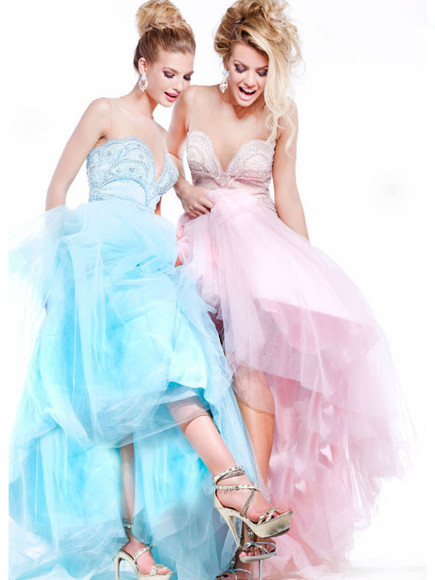 pink dress prom dress blue dress 2014 dress off shoulder dress ball gown dress celebrity dress formal dress layer dress