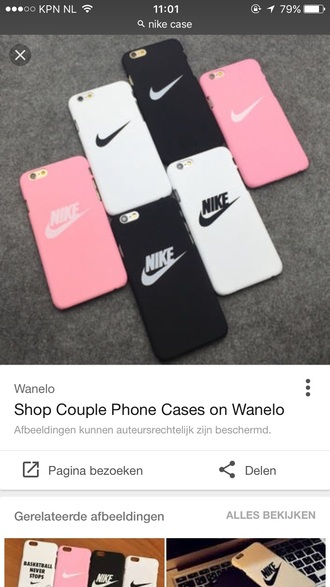 phone cover pink iphone case iphone 6 case nike nike case black white black and white
