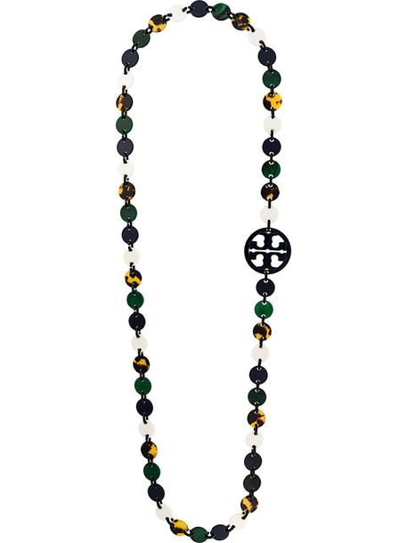 Tory Burch women beaded necklace jewels