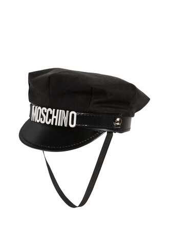 hat cotton black