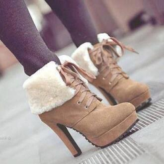 shoes wool boots