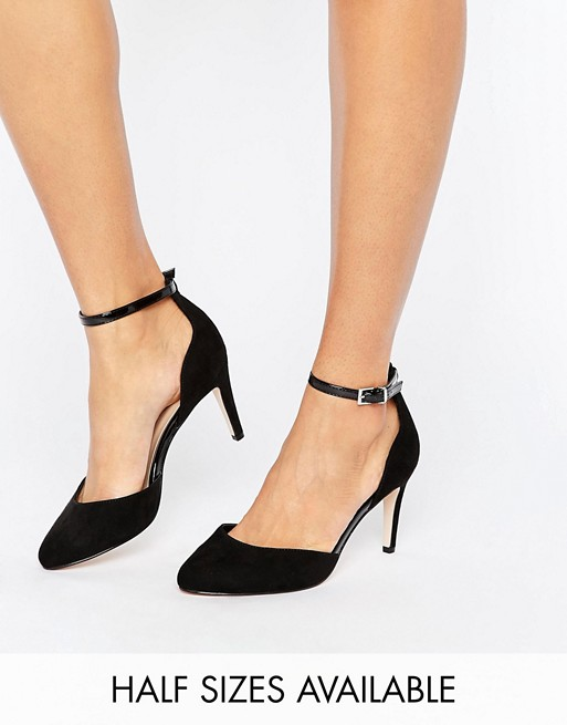 ASOS SWALLOW Heels at asos.com