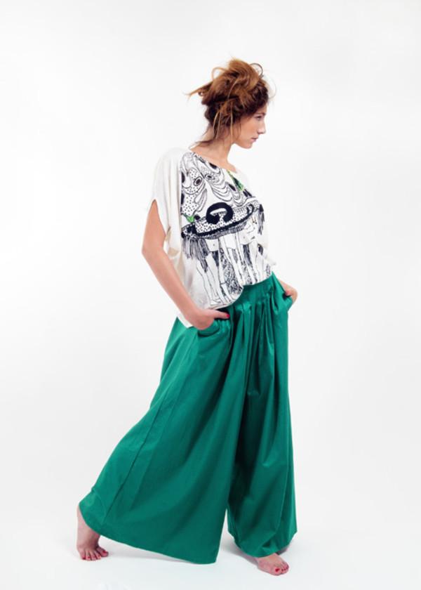 pants ambrym green