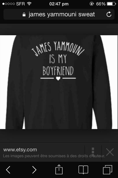 sweater james yammouni