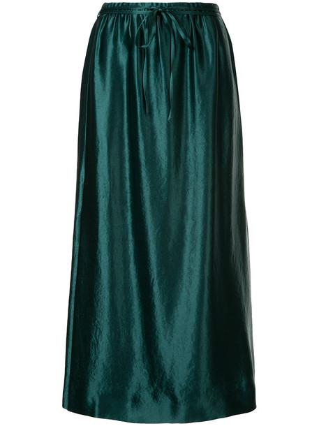 skirt women green