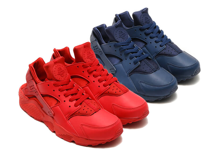 68d5d980f58c4 Nike Air Huarache Varsity Red   Midnight Navy