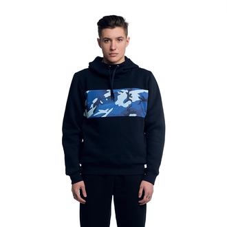 sweater print printed hoodie streetwear streetstyle blue camouflage camoflauge sweater blue sweater urban navy camo print navy hoodie