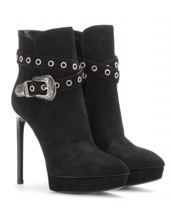 Janis suede ankle boots ✽ 001124 ◊ mytheresa