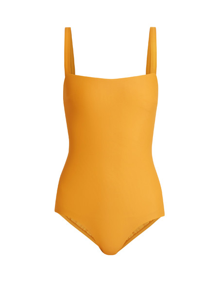 yellow swimwear