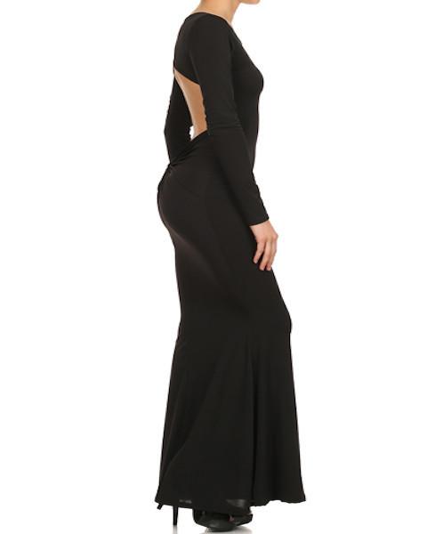 Head over heels maxi dress