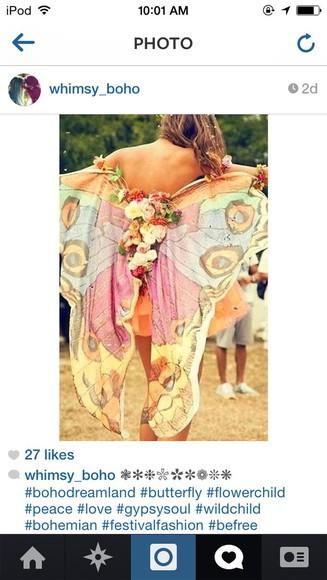 butterfly renaissance costume