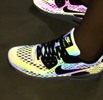 shoes nike multicolor