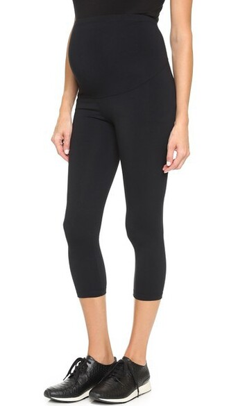 leggings cropped black pants