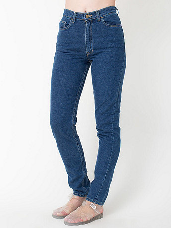 Apparel - Dark Wash High-Waist Jean
