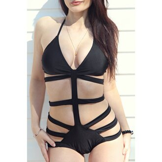 swimwear rose wholesale black monday monokini style summer summer outfits sexy