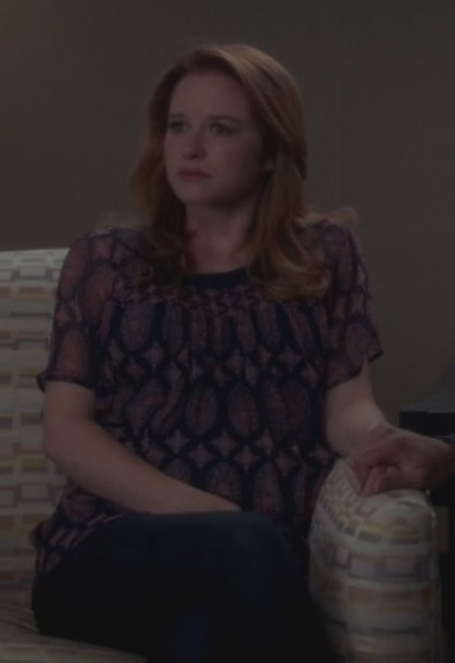blouse grey's anatomy april kepner sarah drew silk