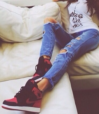 nike air nike sneakers sneakers nike running shoes red black red sole shoes high top sneakers