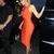 Cut Out Midi Bandage Dress Orange