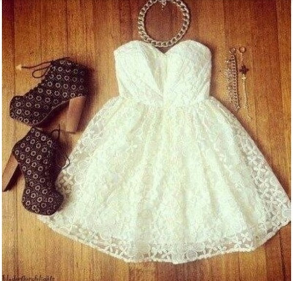 dress cute dress white summer