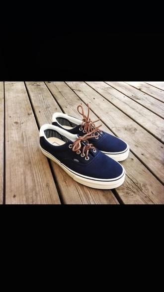 shoes vans shoes vans blue shoes navy preppy
