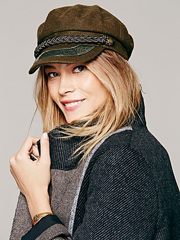 Christy's Crown Collection  Lieutenant Braided Hat at Free People Clothing Boutique