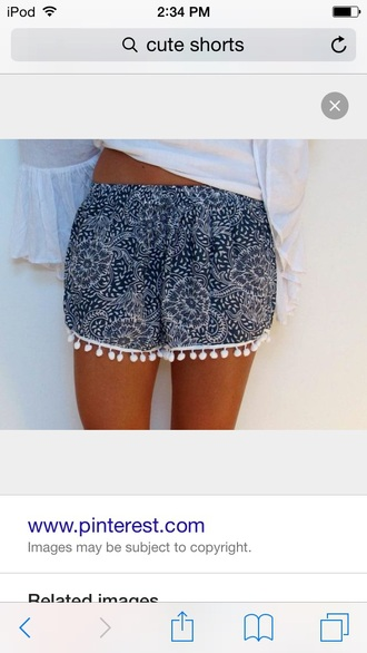 shorts blue or white