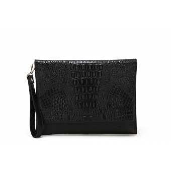 Mayfair - Black on Black Croco