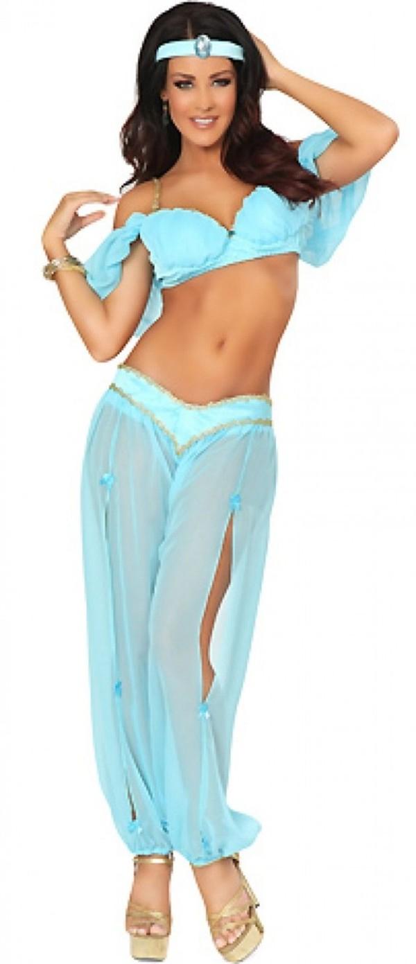 shirt blue dress Jasmine aladdin princess princess jasmine costume halloween funny