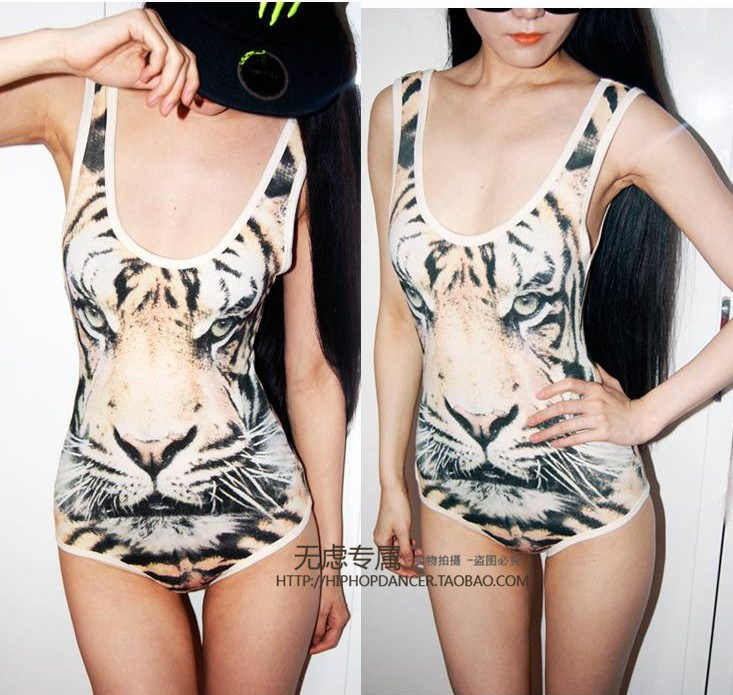 Free Shipping 2013 tops women clothing vintage sexy tiger strap jumpsuit vest The sexy vest women t shirt  female sexy camisoles-inTank Tops from Apparel & Accessories on Aliexpress.com