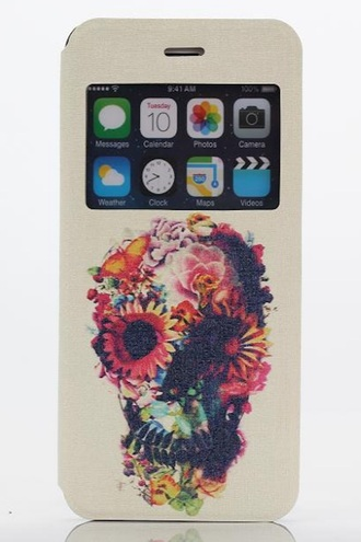 phone cover iphone cover colorful fashion style trendy cool skull freevibrationz free vibrationz