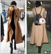 coat,kylie jenner,camel coat,long coat,tailored coat,jacket