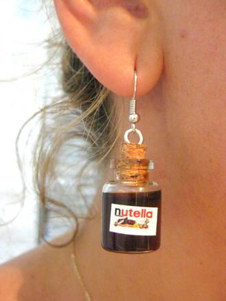 jewels bottle earring hallowen boho jewelry earrings jewelry nutella gift ideas