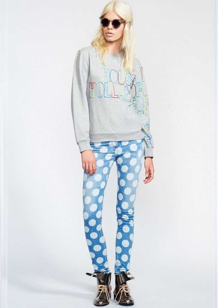 Polka Dot Skinny Jeans – House of Holland