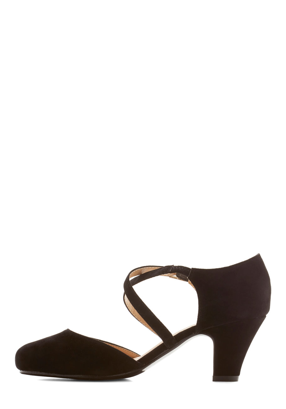 Memorable moves heel in black
