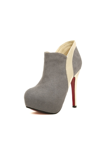Platform Ankle Boots with Zipper [FABI1507]- US$ 42.99 - PersunMall.com