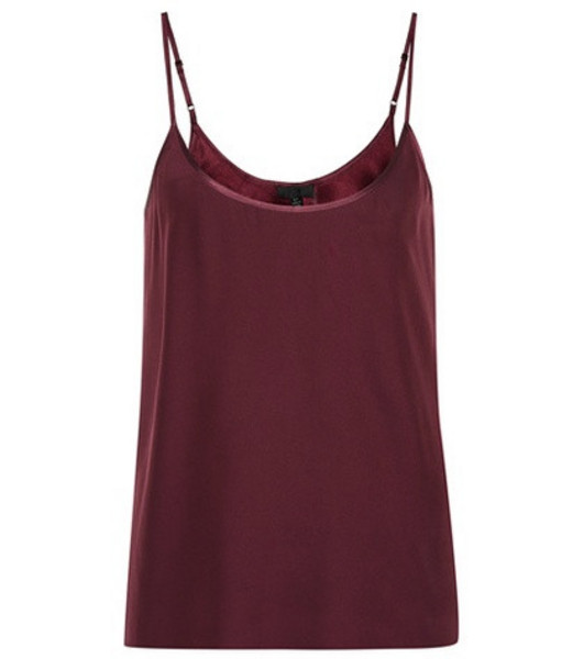 ATM Anthony Thomas Melillo Silk camisole in red
