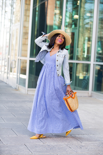 jadore-fashion blogger dress bag hat jewels jacket